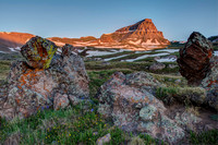 Uncompahgre Peak at Sunrise