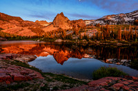 Lake Blanche Relflection